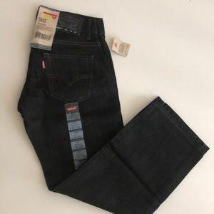 Levi's 505 boys Jeans size 8 regular NWT